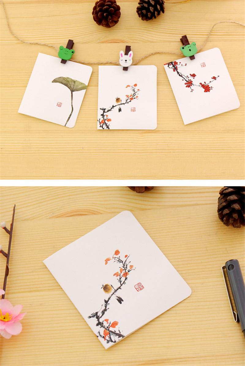 Wholesale Chinese Style Greeting Cards Diy Envelope Paper Handmade