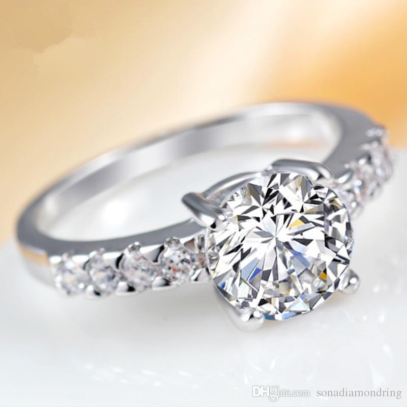7 diseños para elegir Señoras Diamante Anillo de Dedo imitaion Jewlery vendedor del Reino Unido