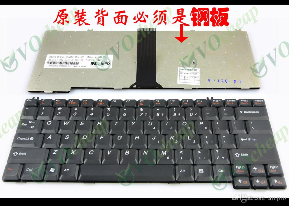 Nieuwe Laptop Toetsenbord voor Len Ovo 3000 C100 C200 F31 G430 N100 N200 IDEAPAD U330 Y330 Y430 Black Us VE