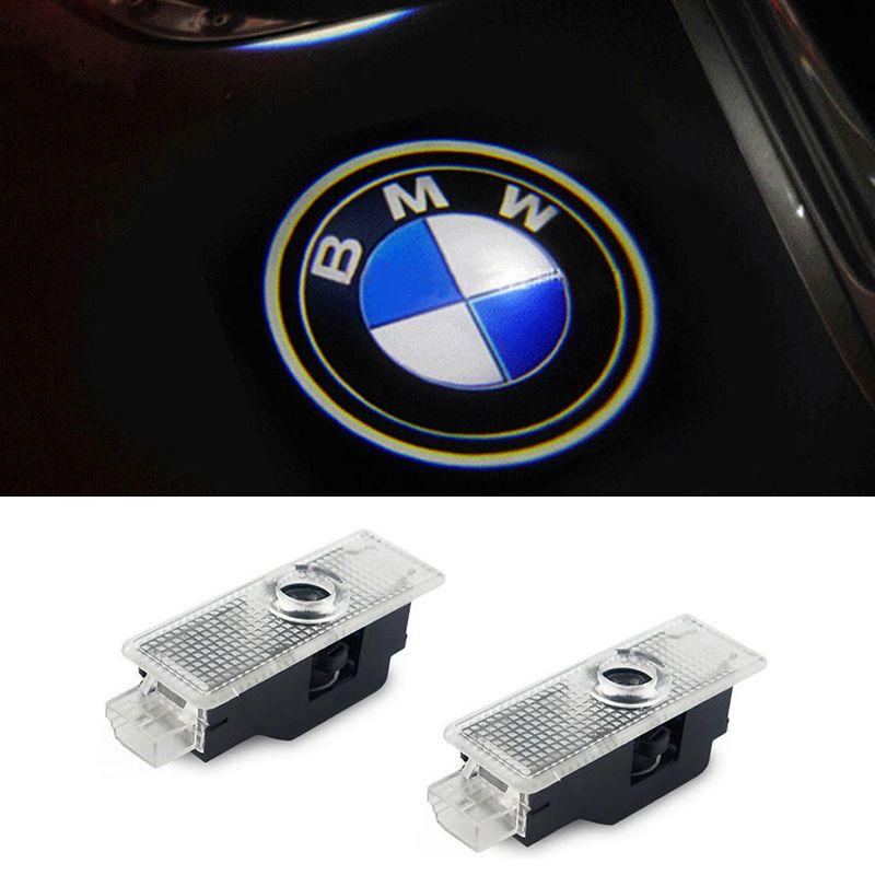 Porta Do Carro LEVOU Cortesia Logotipo Do Projetor Laser Fantasma Sombra Luz para BMW X3 X5 E60 E90 F10 F30 M5 Z4 F01