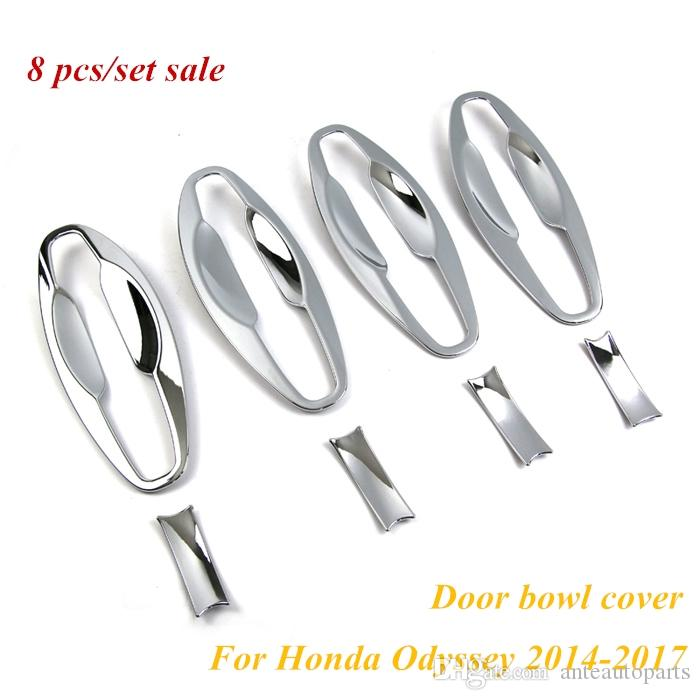 8Pcs ABS Exterior Side Door Handle Bowls Cover Trim For Mazda CX-5 CX5 2012-2016