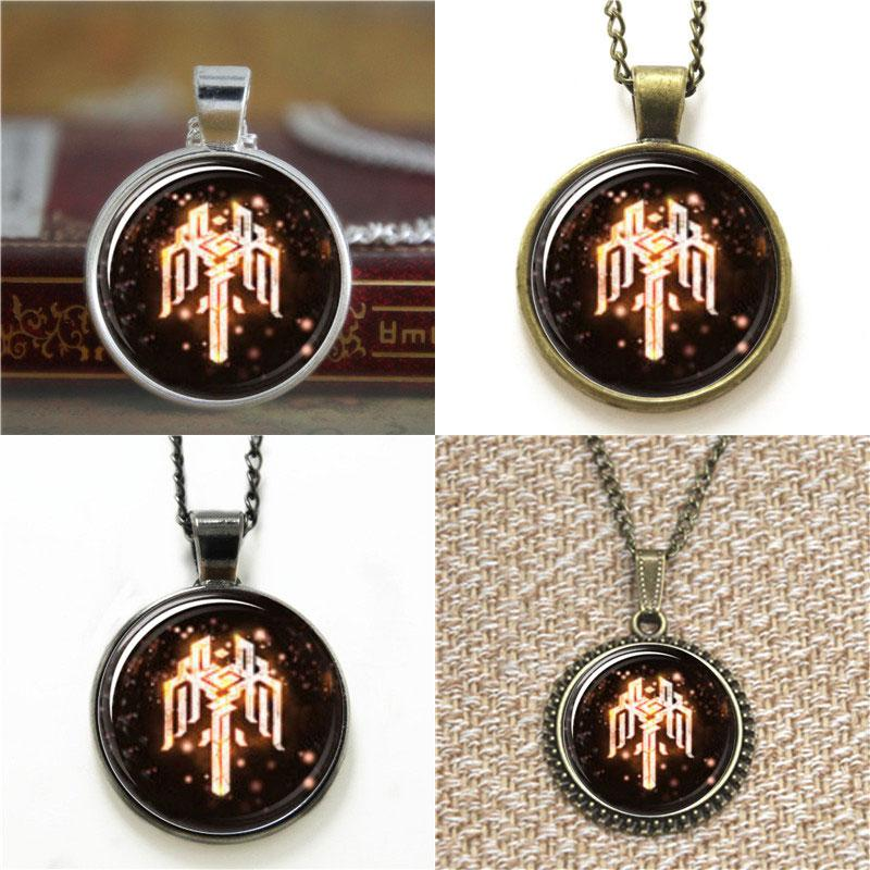 10pcs symbol sign Dragon Age Crest of Kirkwall pendant Necklace keyring bookmark cufflink earring bracelet