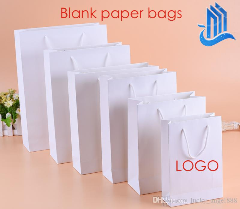 Plain Blank Paper Bags Mobile Phone Shopping Gift Bags Design ...