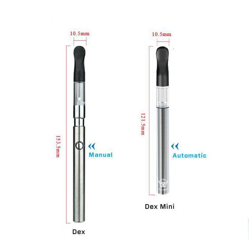 Original authentique co2 vaporisateur O stylo vape bourgeon dex 0.6ml huile épaisse atomiseur avec charge usb