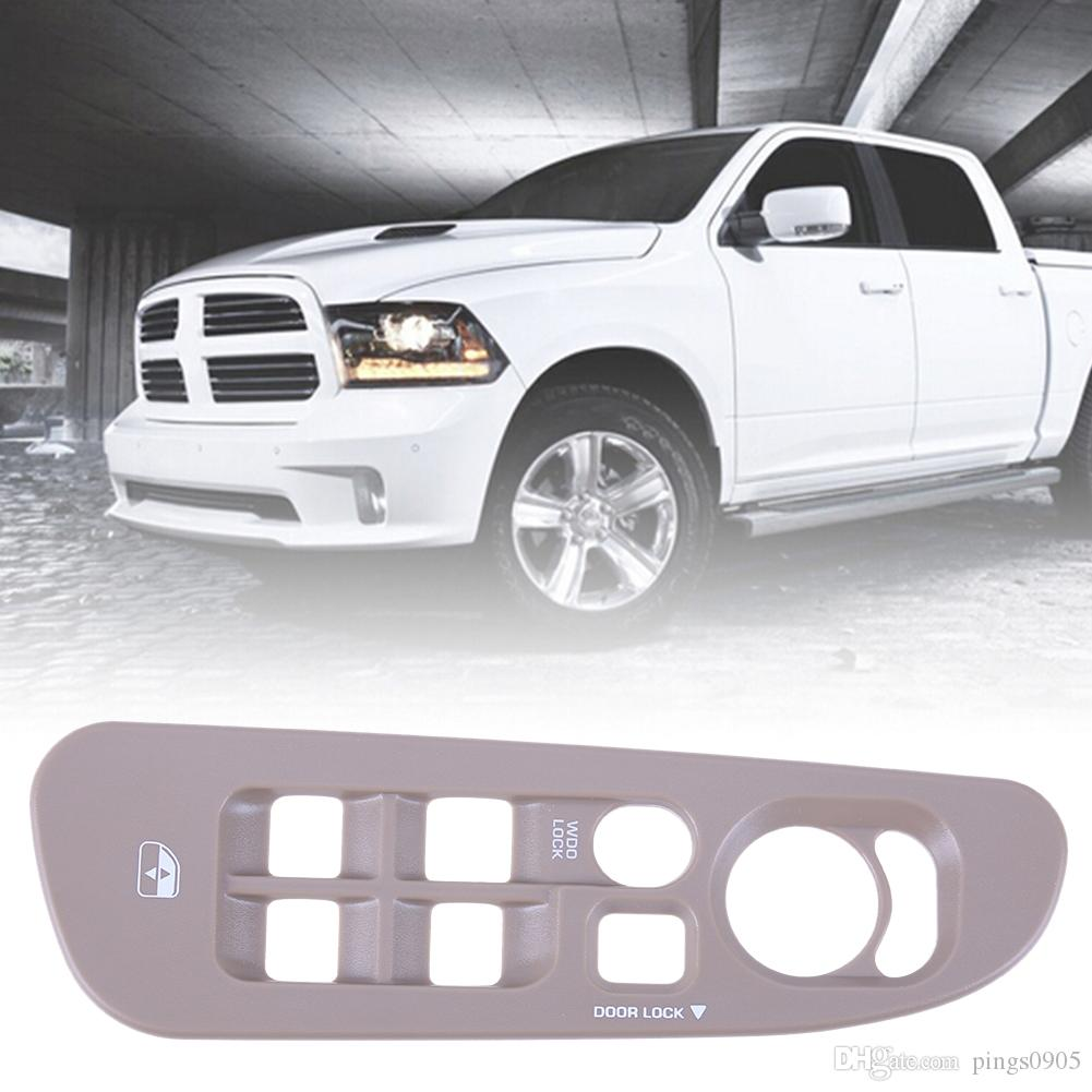 Master Window Switch Bezel Driver Side 02-05 Dodge Ram 1500 2500 3500 Dark Gray
