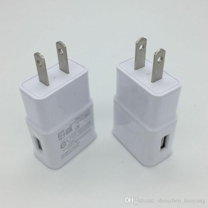 100PCS/LOT USB Wall Charger 5V 2A AC Travel Home Charger Adapter US EU Plug for universal smartphone android phone