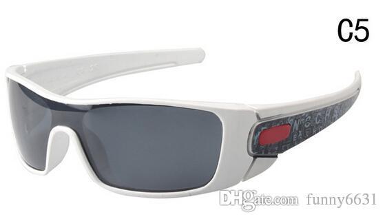 موك = 10 قطع جديد موضة نظارات المرأة نظارات السلامة للدراجات الرياضية المبهرة نظارات الرجال طلاء عاكس الشمس زجاج شحن مجاني