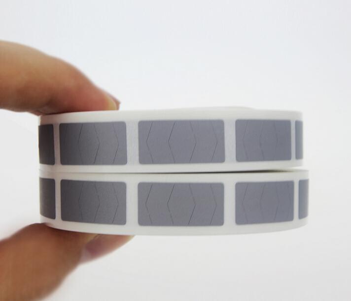 SCRATCH OFF Etiket etiket DIY manuel el yapımı gümüş yapıştırıcı çizik Bant 1000 adet / rulo X10roll 10x20mm