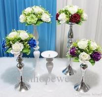 Compre Arreglo Floral Soporte De Flores Artificiales Para Centros De Mesa De Boda A 17086 Del Sunhopewedding Dhgatecom