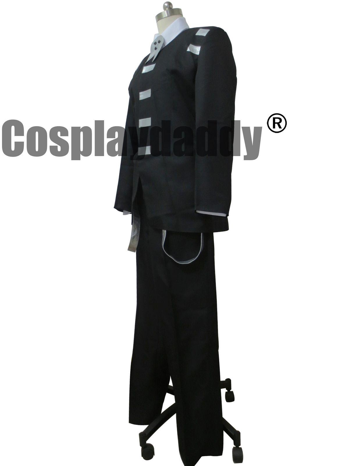 Death the Kid Soul Eater Cosplay Kimono Dress purple cosplay costume custom made