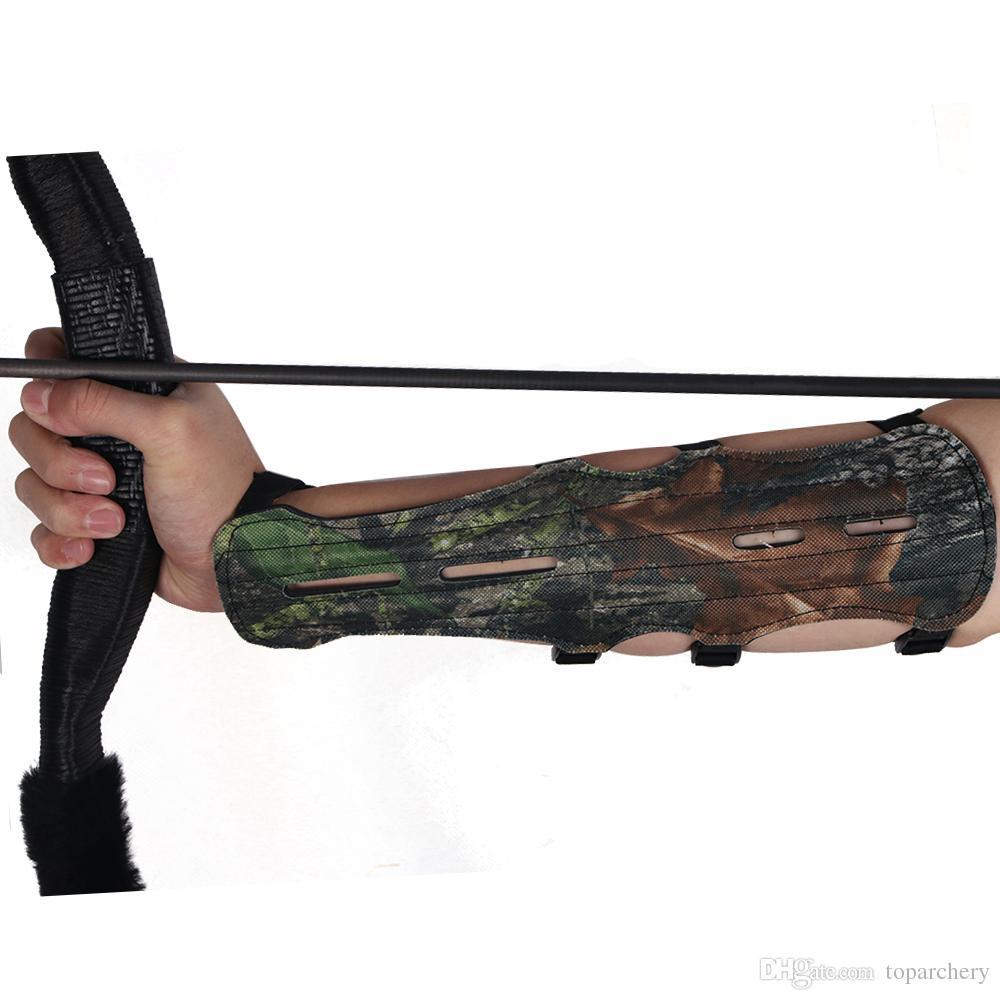 4 Strap 2 Seiten Einstellbare Strap Bogenschießen Ziel Armschutz Schießen Arm Schutz Safe Guard Bogen und Pfeil Zubehör