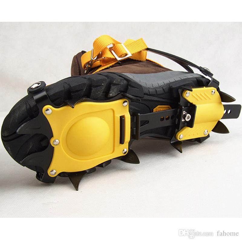 ZLKMQ Pointes de Pince antid/érapantes universelles Couvre-Chaussures de Traction pour Pinces /à Glace Pointes de Chaussures de Neige universelles /à 5 Griffes antid/érapantes