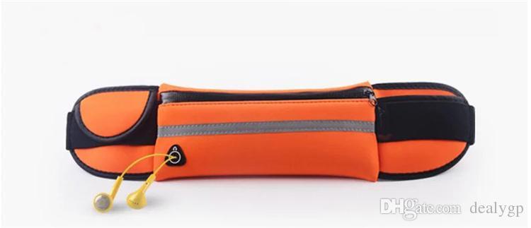 ممارسة الجري الركض رياضة رياضة الحقيبة للماء الخصر حزام حقيبة الهاتف القضية ل فون 6 زائد