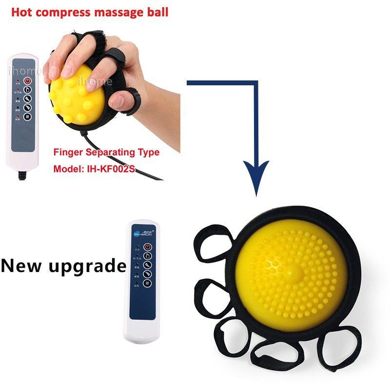 Sıcak Kompres Masaj Topu, El FİZYOTERAPİ REHABİLİTASYONU Egzersiz Ekipmanları, HEMIPLEGIA STROKE kaynaklı parmak distonisi için