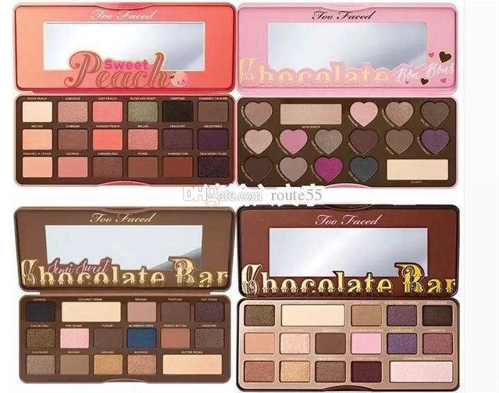 Two Fave Melted Sweet Peach Palette Eye Shadow Limited Edition ...