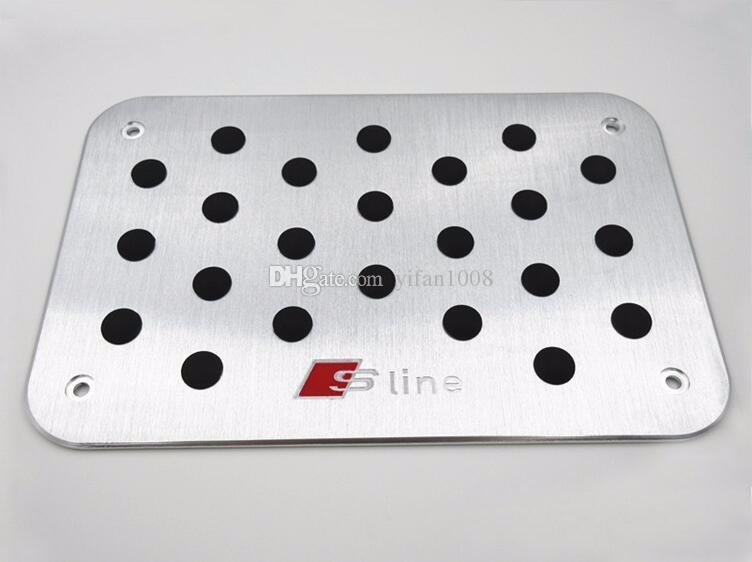 AUDI Q3 Q5 Q7 TT A1 A4L A4 A5 A6 A6 A7 A8 S3 S5 S6 S7 유니버설 플로어 카펫 매트 페달 패드 발판 플레이트 패드 스티커