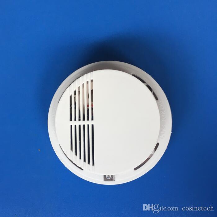 رخيصة جيدة لاسلكي 433MHZ 315MHZ استشعار الدخان ، كاشف الدخان ، وأجهزة الاستشعار إنذار الحريق لأنظمة الإنذار أمن الوطن
