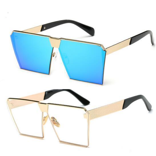 Designer Ladies Sunglasses Mens New Style Korean Square Sun Glasses For Men  Women 2017 Shades Sunglasses ... a98b84ffe5