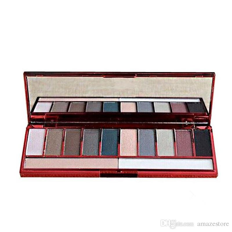 Hot 3PCS/SET Lorac Valentine's Day Edition Palett LORAC Pro Rockin' Red Hot Smoky Red Sexy Palette set 10color Eyeshadow Palette 48pcs