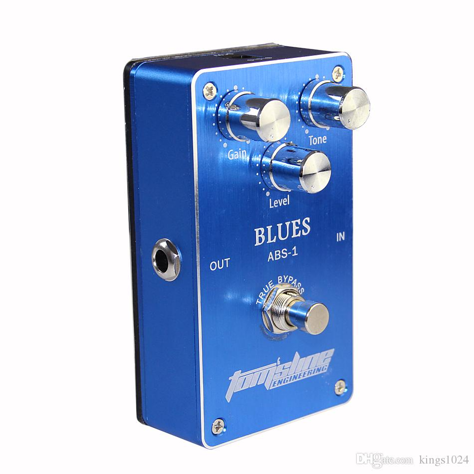 Aroma ABS-1 Premium Blues Tube Distortion Simulation Effects Pedal for Electric Guitar