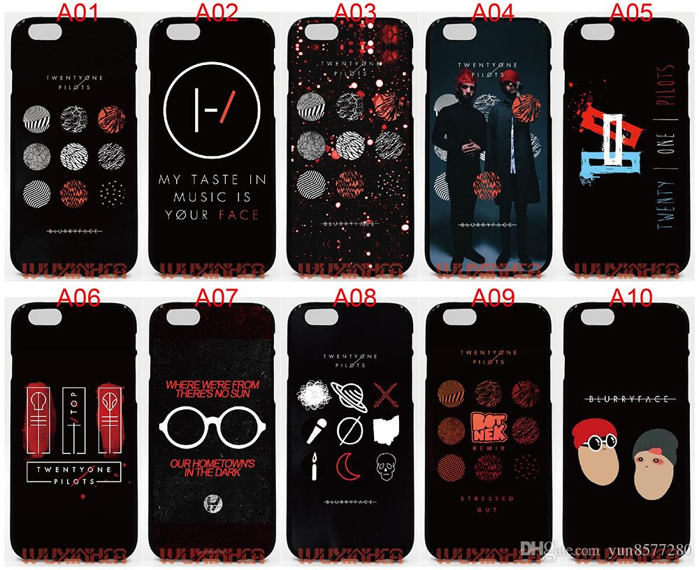 on sale 19815 9b748 Twenty One Pilots Blurryface For IPhone 6 6S 7 Plus SE 5S 5C 4S IPod Touch  5 For Samsung Galaxy S6 Edge S5 S4 S3 Mini Note 5 4 3 Phone Cases Cell ...