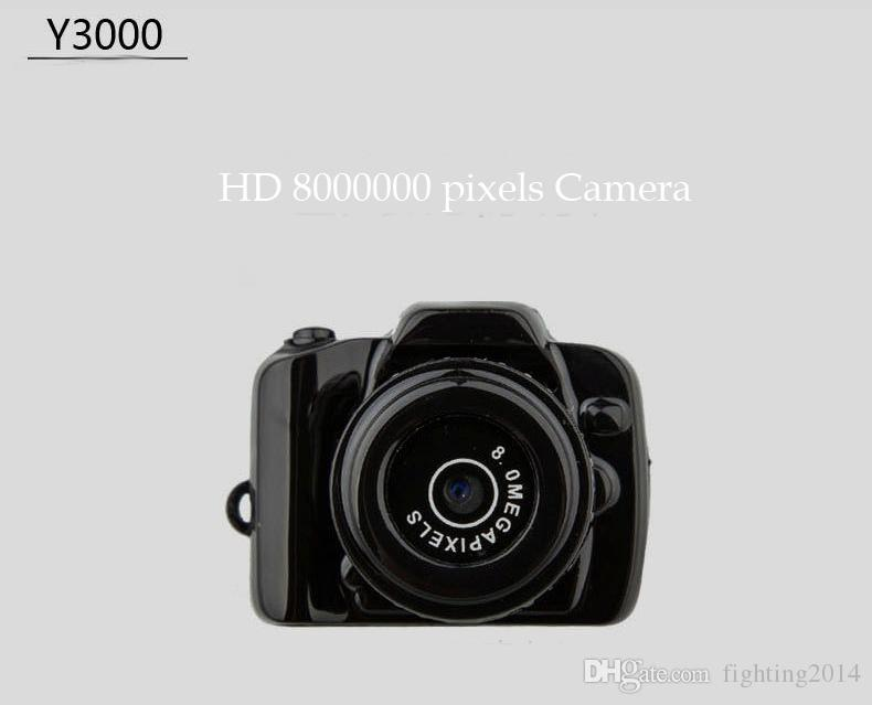HD 720P mini DV smallest digital camcorder mini camera Y3000 audio video recorder security Surveillance mini DVR Pocket body camera