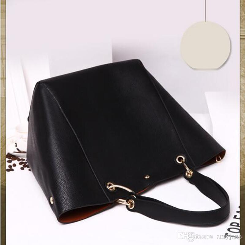 Качество роскошные сумки Главное плечо Высокие Женщины Дизайнер Большой Емкость Мода Сумки Messenger SAC Femme Oqjhj