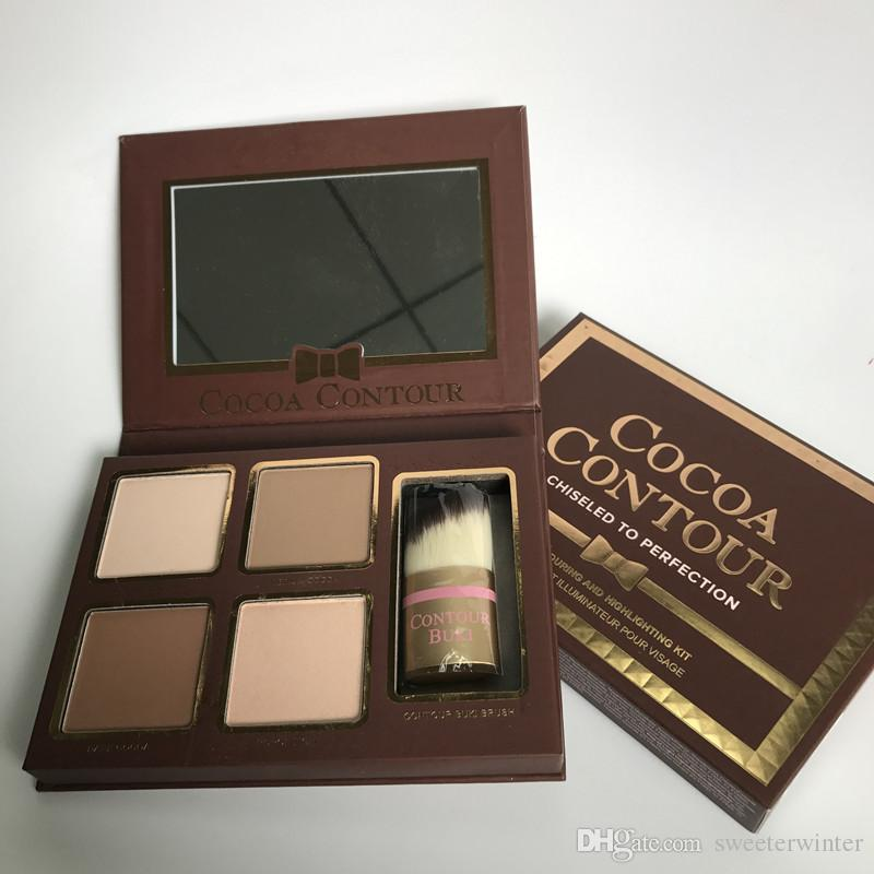 EPACK Makeup COCOA Contour Highlighters Palette Nude Color