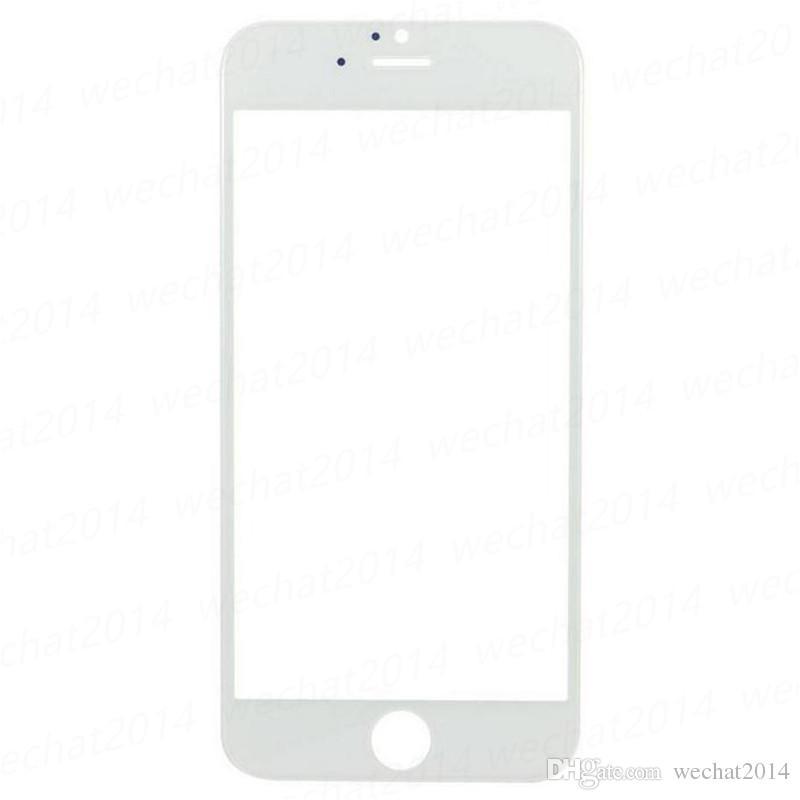 아이폰 6 플러스 6S 6S 플러스 7 플러스 무료 DHL에 대한 전면 외부 터치 스크린 유리 렌즈 교체