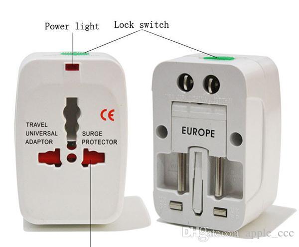 Nueva OEM todo en un adaptador CA del enchufe universal de energía del convertidor del Reino Unido EEUU AU de la UE en el mundo
