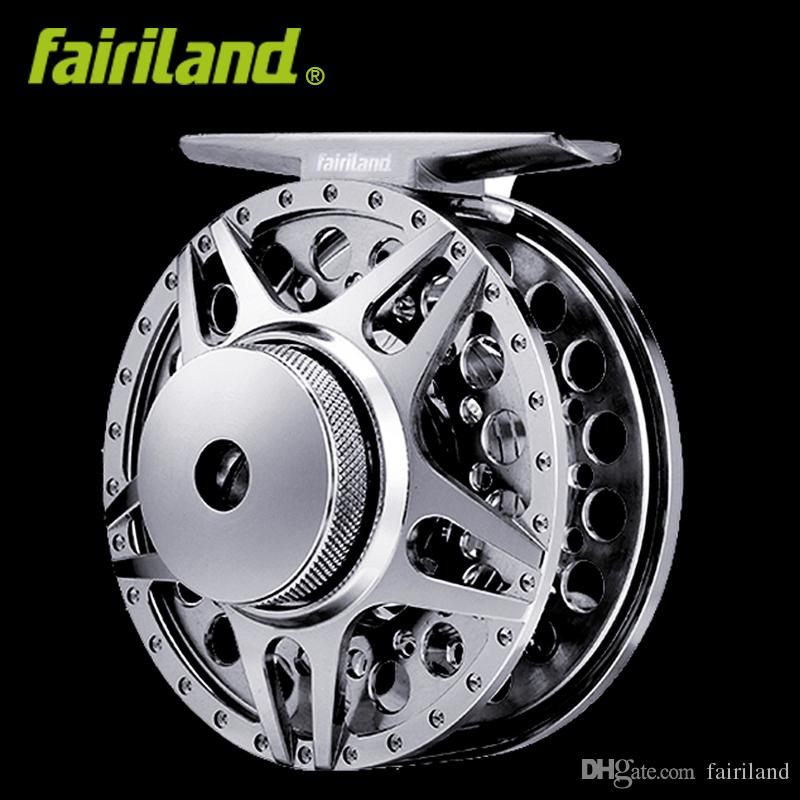 2BB+1RB 1/2 70mm Full Metal fly fishing reel CNC machined aluminum fish wheel left right hand Interchangeable fishing tackle free shipping