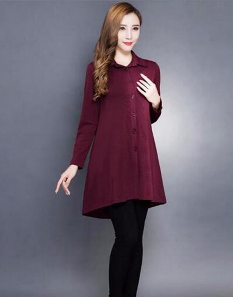 Allentato donna temperamento del periodo primavera e l'autunno e la sfilata di moda di svago grandi iarde sottili sottili trench / M - 3 XL