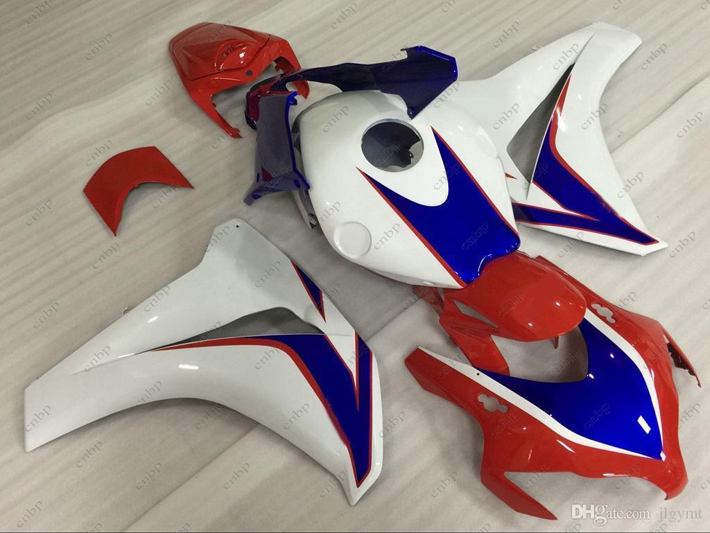 ABS Fairing CBR1000 RR 2010 Fairing Kits Fireblade 10 11 White Red Blue Body Kits CBR 1000 RR 08 09 2008 - 2011