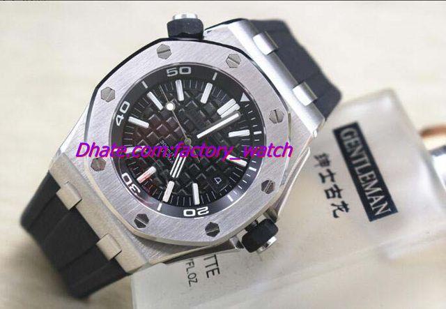 Luxury Watch New Arrivals Offshore Diver Carbon AU.OO.A002CA.01 Black Rubber Bracelet Automatic Men's Watch Watches