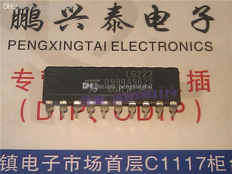 L6223. STEPPER MOTOR CONTROLLER / 듀얼 인라인 20 핀 패키지. 전자 부품 / PDIP20 / IC