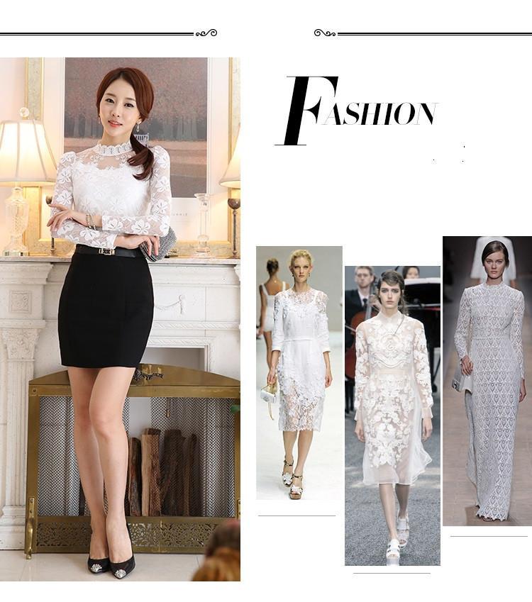 lace blouse 505