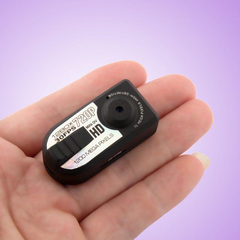 كاميرا HD 720P البسيطة DV الفيديو المحمولة البسيطة الرياضة DV مسجل فيديو سجل كشف الحركة مراقبة الأمن كاميرا صغيرة الإبهام Q5 الأسود