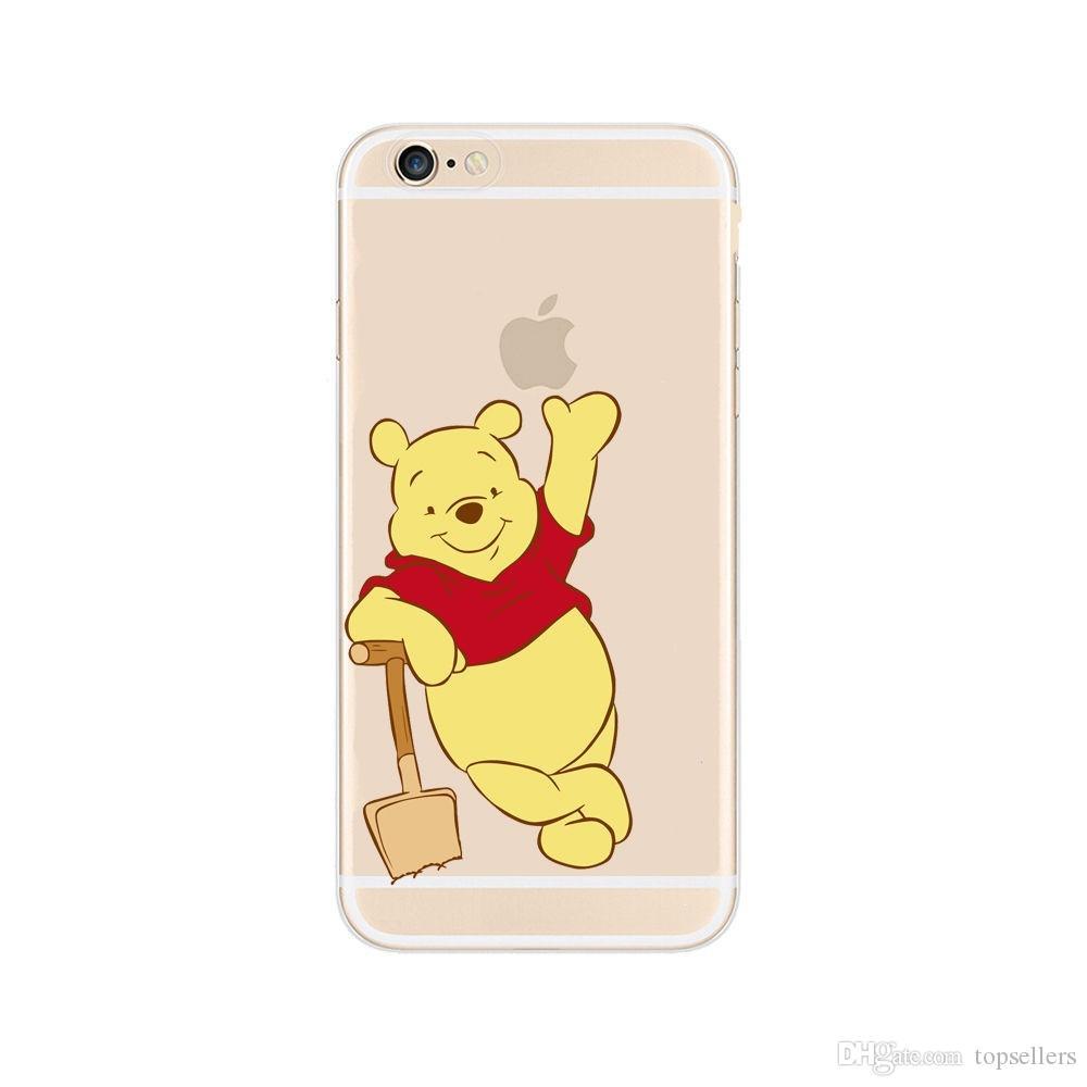 Handyhülle Htc Desire Karikatur Winnie Pooh Gemaltes Freies TPU Fall  Abdeckung Für IPhone 6 6s 7 Plus 5s 5C GALAXY S8 S7 S6 EDGE Transparenter  Weicher ...