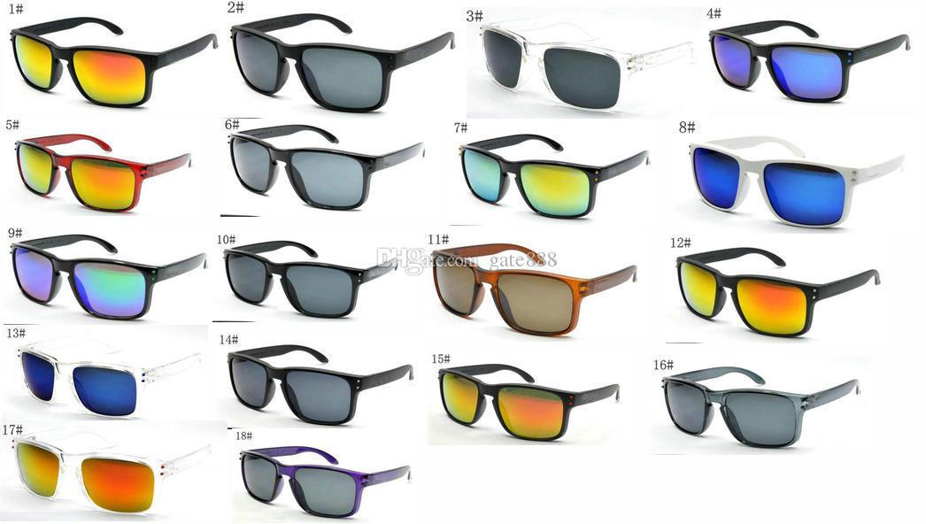 très chaud vente de lunettes de soleil pour hommes d'été Shade Protection Lunettes de soleil hommes lunettes soleil 18Colors