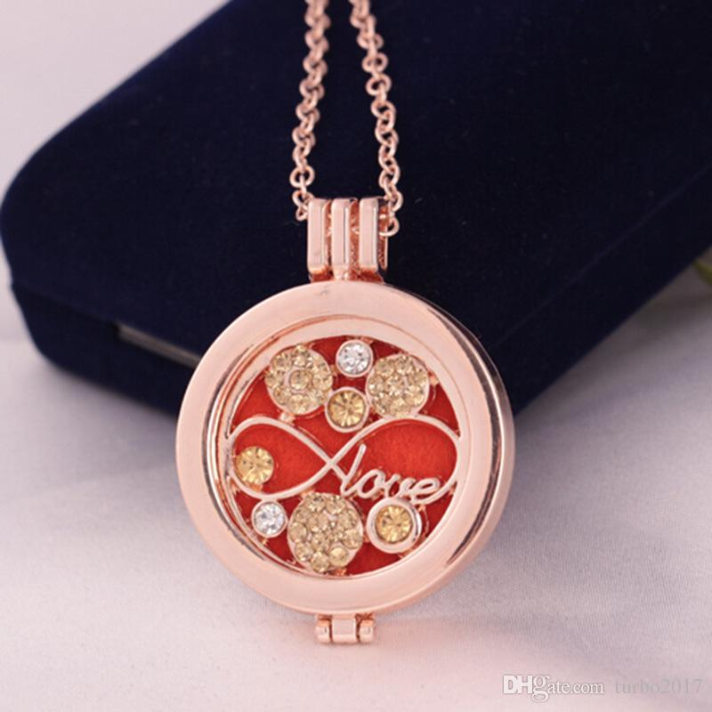 Медальон подвески Neckalce женщины ароматерапия диффузор ожерелья эфирное масло диффузор медальоны подвески с 3 цвета колодки