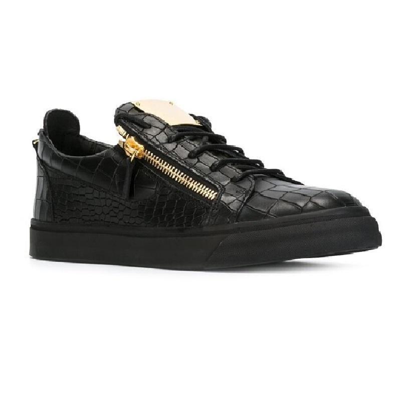 Artı boyutları 35-47 Erkekler kadınlar rahat ayakkabılar moda sneakers Yüksek kalite İtalya ünlü İtalyan tasarımcı markaları lüks Hakiki Deri scarpe da
