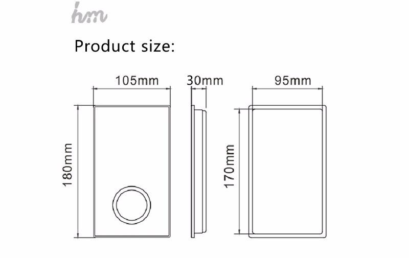 hm Digital Shower Controller,LED Touch 3 Way Thermostat Shower Controller,Display Control System,LCD Smart Temperature Mixer (11)