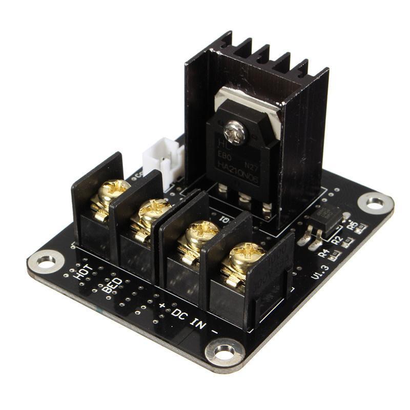 Freeshipping 3D 프린터 부품 일반 추가 기능 가열 된 침대 전원 확장 모듈 3D 프린터 용 고전력 모듈 확장 보드