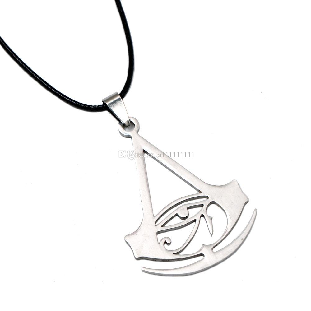 Wholesale Assassins Creed Necklace Metal Alloy Necklace Retro