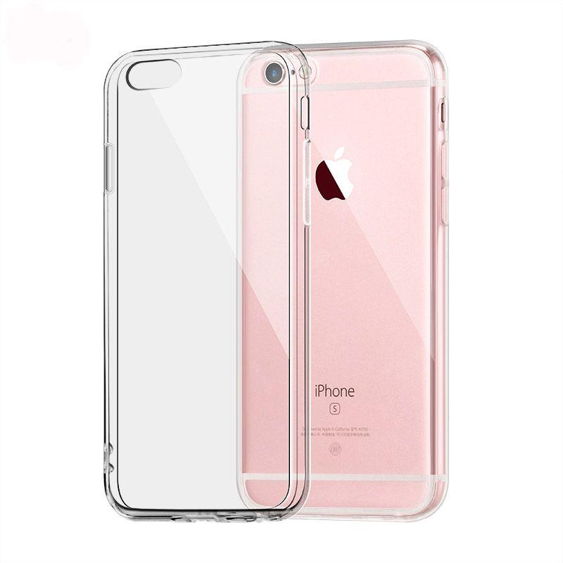 new Funda iPhone 6S Carcasa iPhone 6 Plus Case TPU Transparente