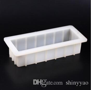 Moule de moule de gâteau de savon de rectangle moule cubique 1000ml de résine de moule de pain de barre de pain de barre