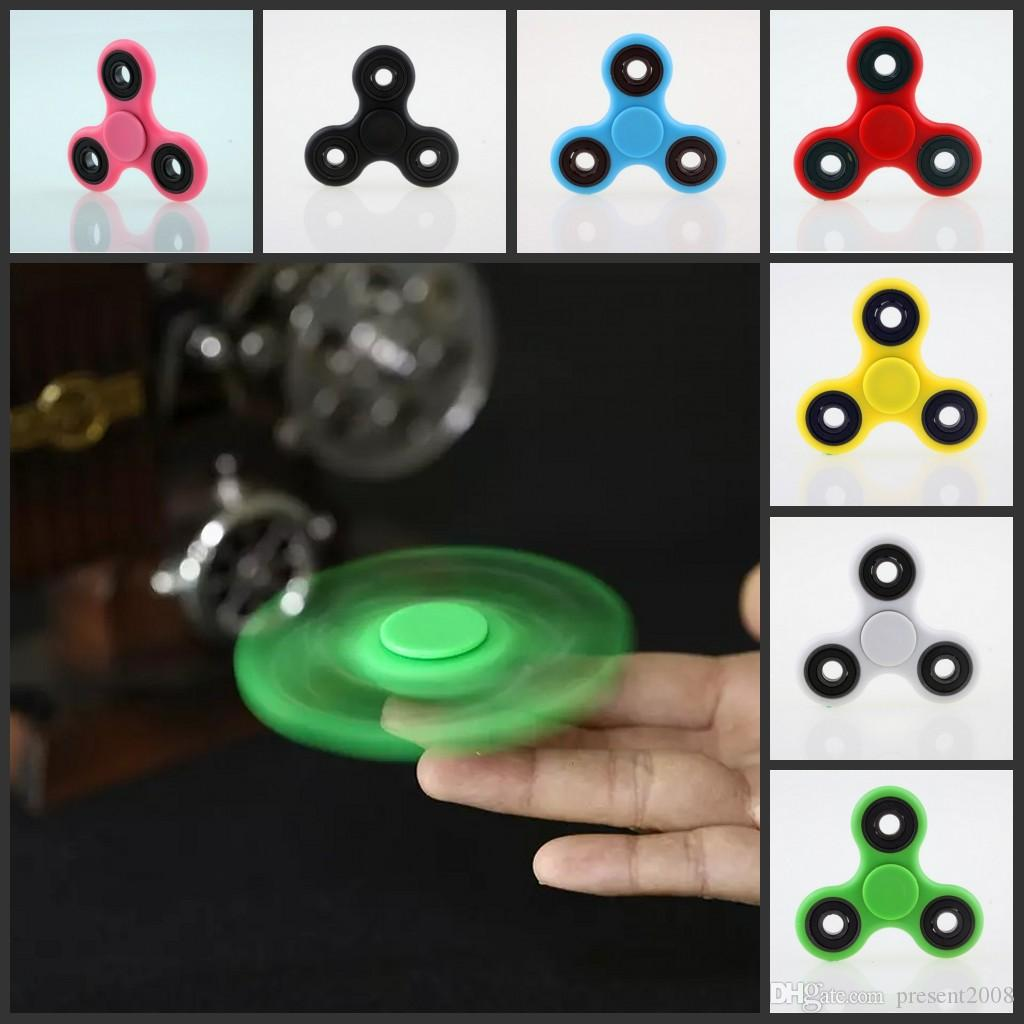 2017 EDC Zappeln Spinner spielzeug finger spinner spielzeug Hand tri HandSpinner EDC Spielzeug Für Dekompression Angst Spielzeug