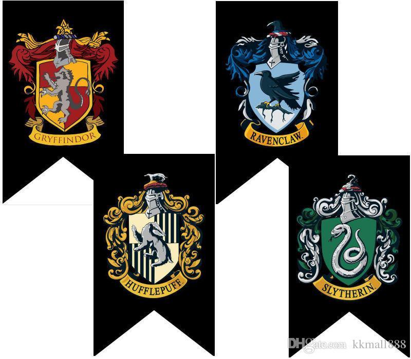 2020 75x125cm Harry Potter Gryffindor Hufflepuff Slytherin