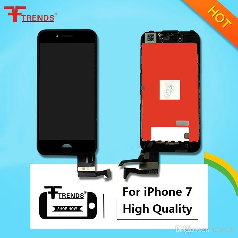 "High Quality A+++ LCD Display & Touch Screen Digitizer Full Assembly for iPhone 7 4.7inch 4.7"" 3D Touch Function Free Shippping"