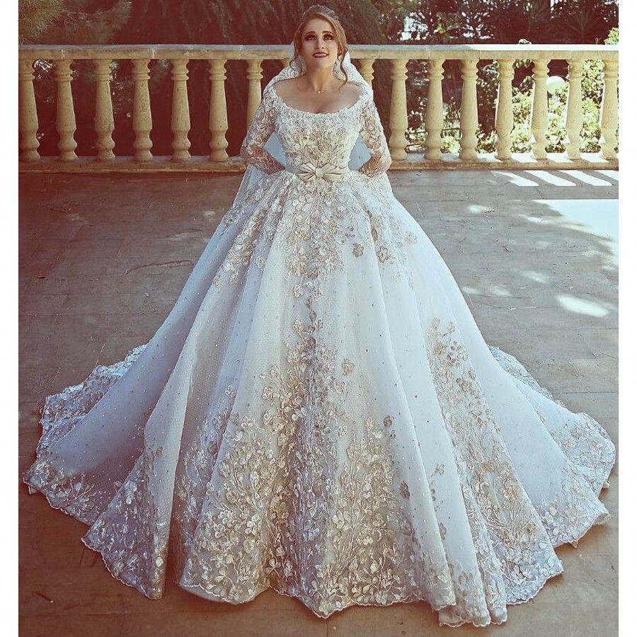 Discount Amazing Dubai Wedding Dresses 20